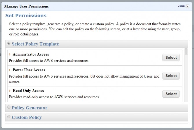 AWS-manage-permisions
